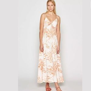 Joie Almona Island Sunset floral maxi dress NWT